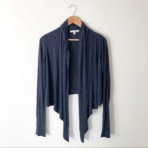 Cabi Blue Knit Cardigan